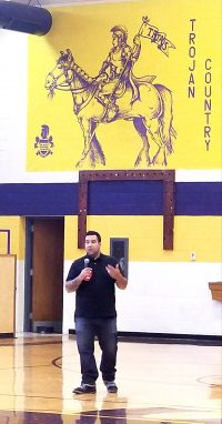 Jude Hassan speaker for Red Ribbon Week - Washington County Health Coalition