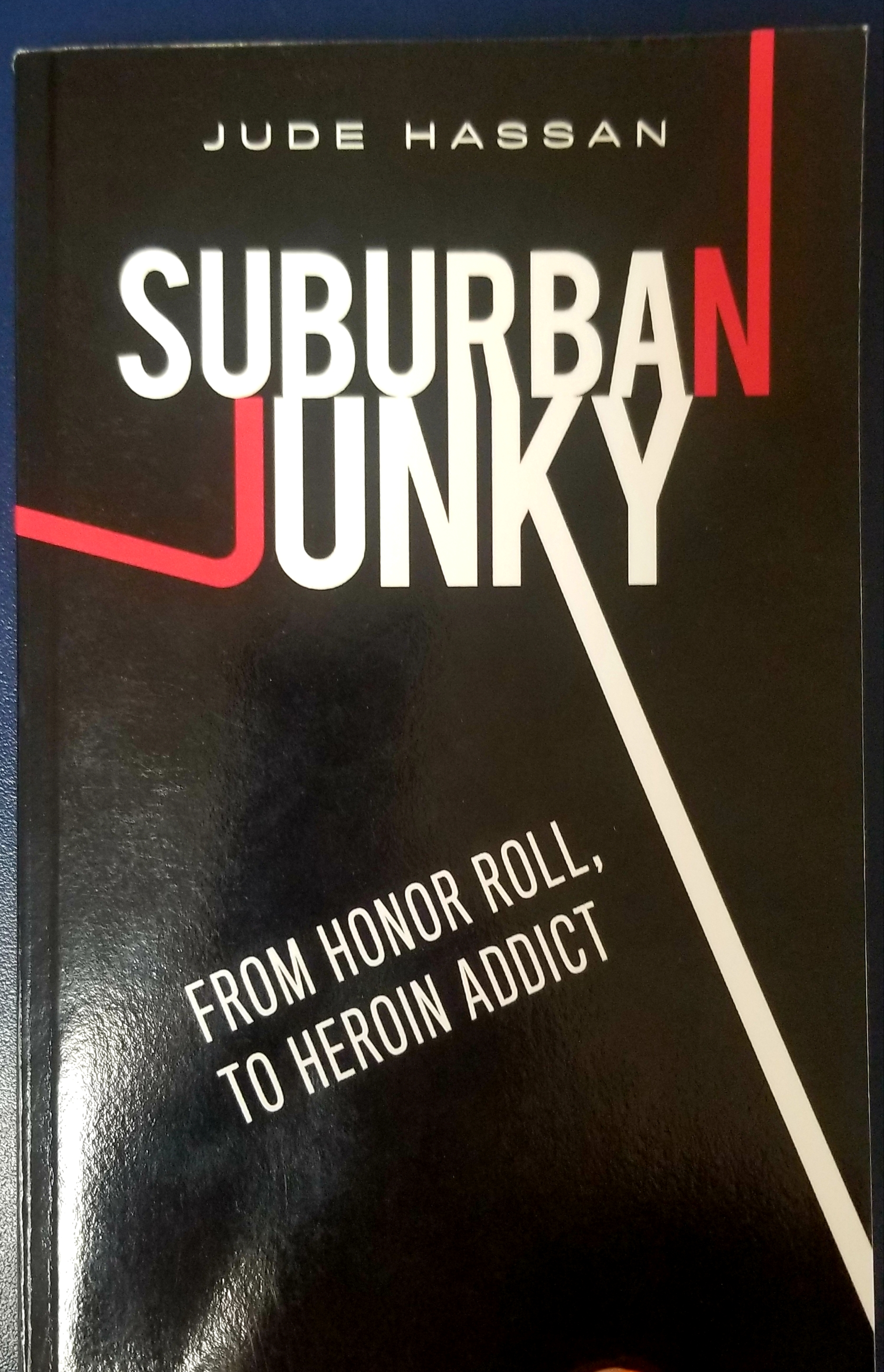 Jude Hassan Suburban Junky Book for Red Ribbon Week - Washington County Health Coalition