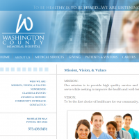 Washington County Memorial Hospital Logo